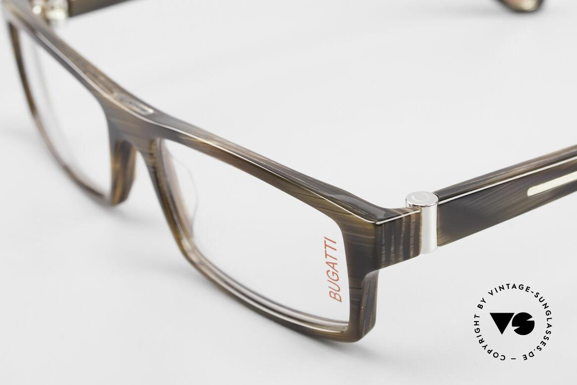 Bugatti 486 Striking Luxury Men's Glasses, true rarity (limited-lot production by Bugatti), Made for Men