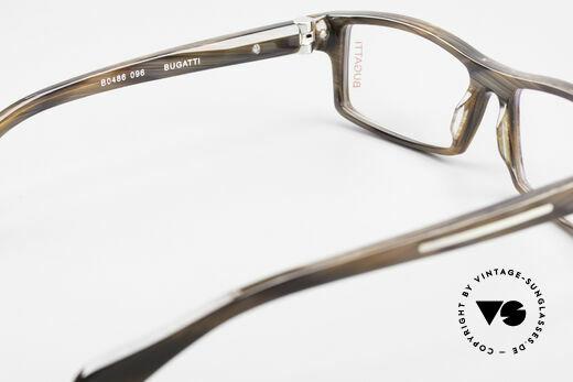 Bugatti 486 Striking Luxury Men's Glasses, the frame (size 54/15) can be glazed optionally, Made for Men