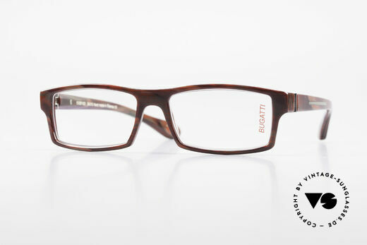 Bugatti 486 Square Men's Designer Glasses Details
