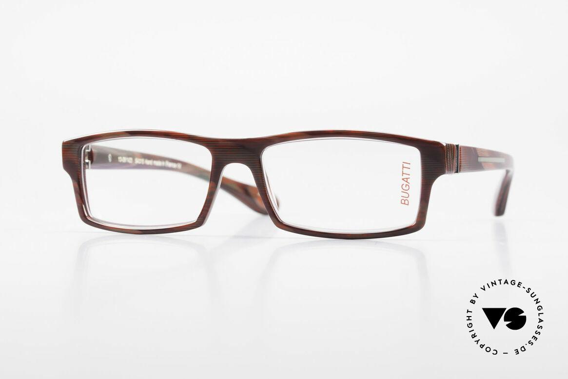 Bugatti 486 Square Men's Designer Glasses, striking high-tech eyeglass-frame by BUGATTI, Made for Men