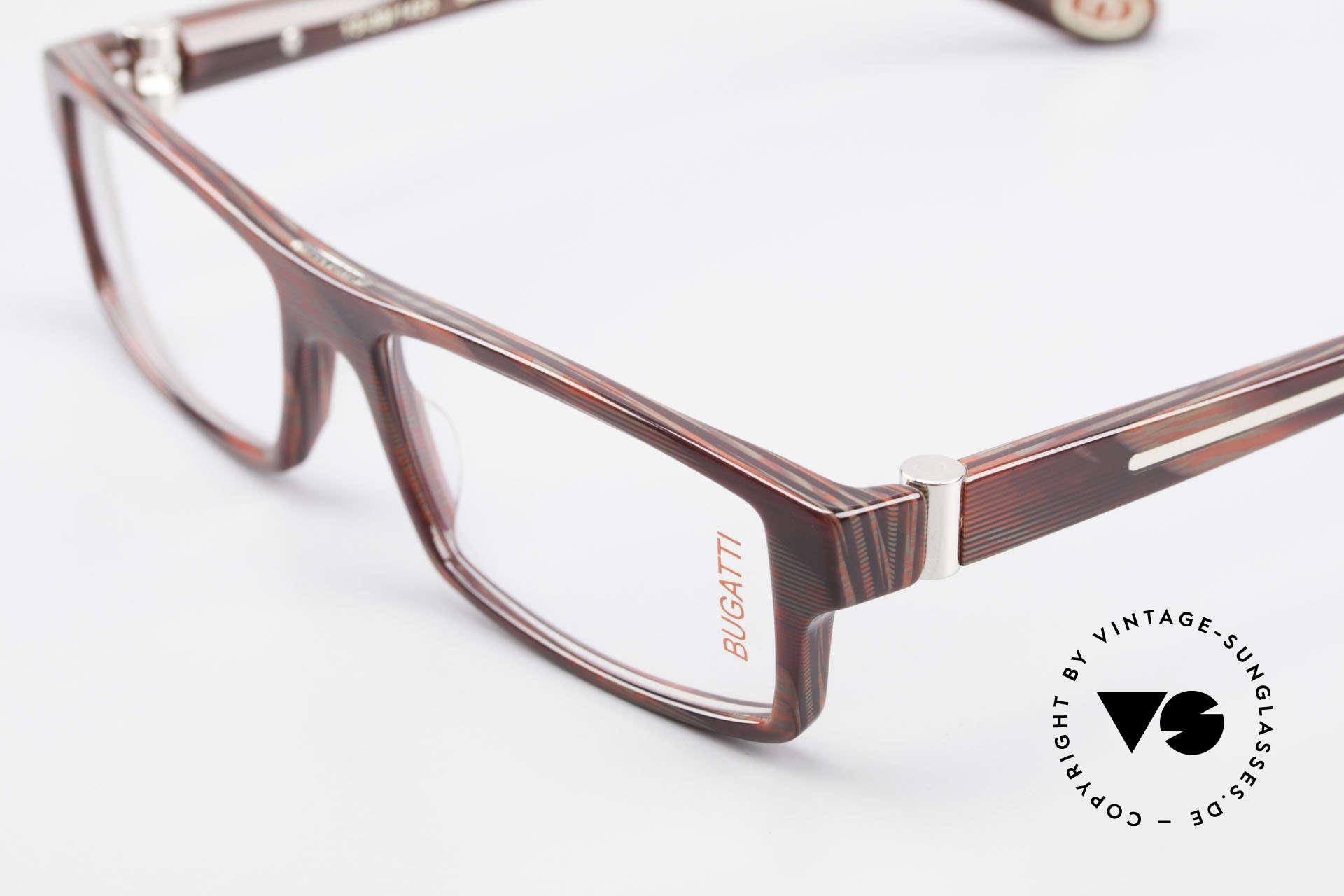 Bugatti 486 Square Men's Designer Glasses, true rarity (limited-lot production by Bugatti), Made for Men