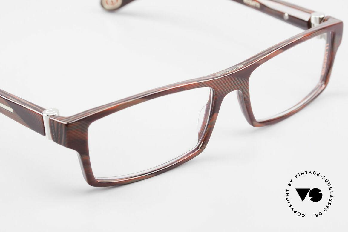 Bugatti 486 Square Men's Designer Glasses, unworn model comes with orig. case & packing, Made for Men