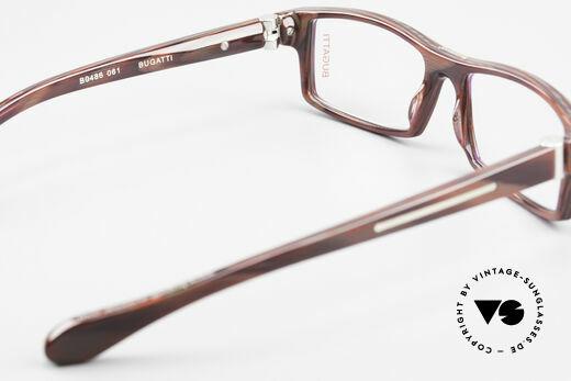 Bugatti 486 Square Men's Designer Glasses, the frame (size 54/15) can be glazed optionally, Made for Men