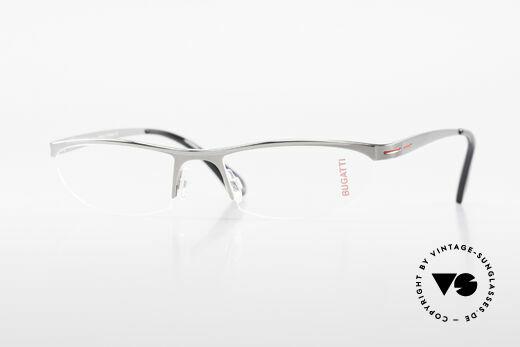 Bugatti 497 Ruthenium Vintage Eyeglasses Details