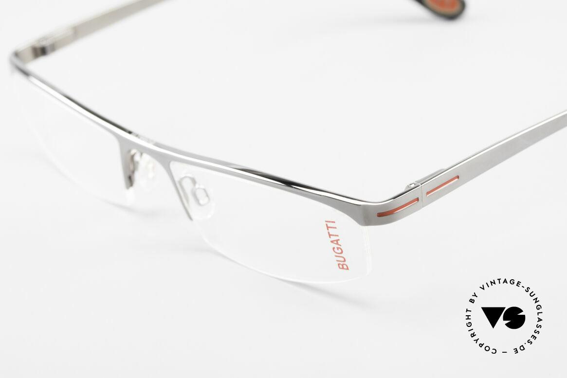 Bugatti 495 Ruthenium Eyeglasses Luxury, unworn rarity of the old Bugatti small batch, Made for Men