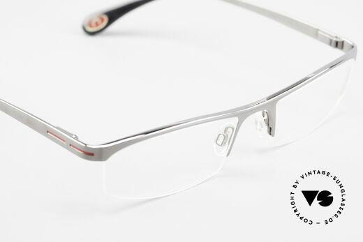 Bugatti 495 Ruthenium Eyeglasses Luxury, Nylor-frame is made for optical / sun lenses, Made for Men