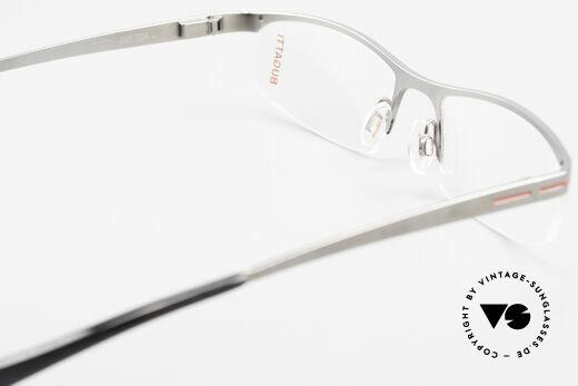 Bugatti 495 Ruthenium Eyeglasses Luxury, Size: large, Made for Men