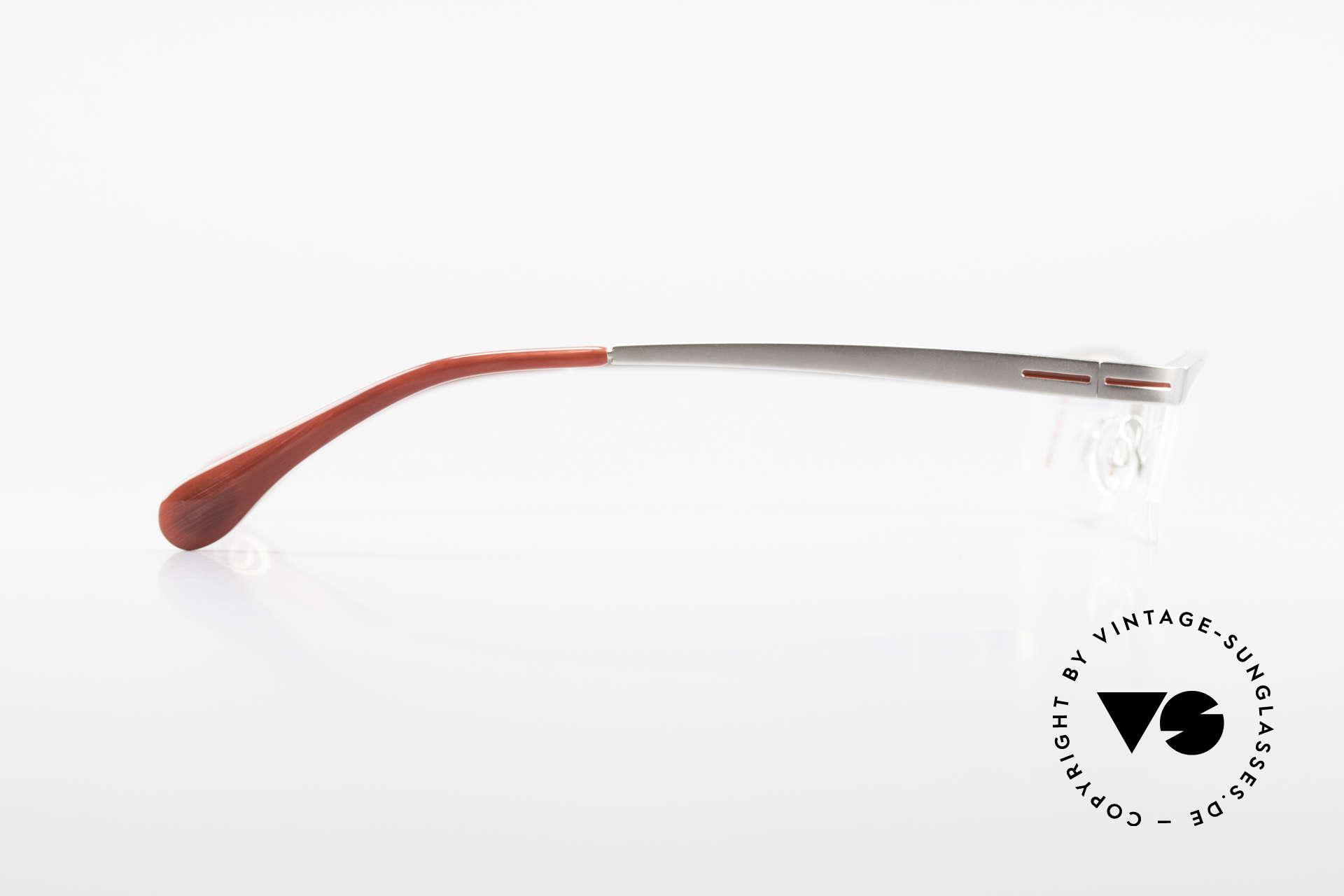 Bugatti 495 Luxury Palladium Frame Nylor, satin-palladium finish = pure luxury glasses!, Made for Men