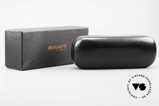 Bugatti 530 Ebony Wood Titanium Frame, Size: medium, Made for Men