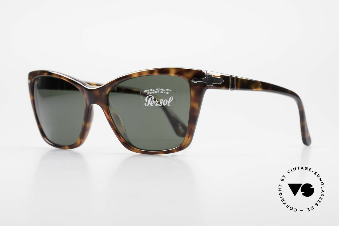 Persol 3023 Ladies Sunglasses Classic, with Persol mineral lenses; 100% UV protection, Made for Women