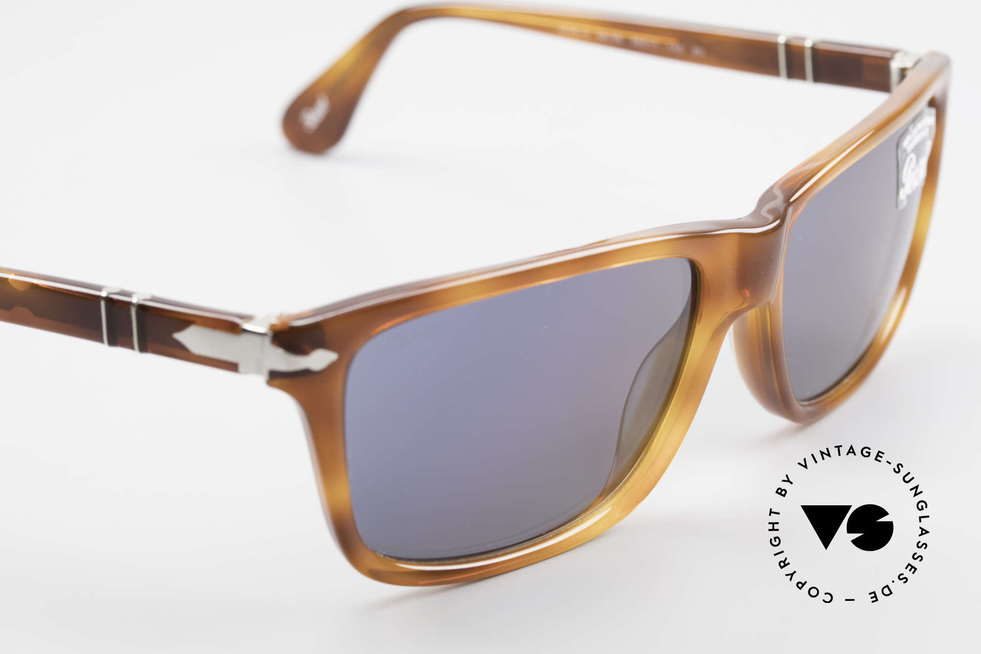 Persol 3026 Classic Sunglasses For Men, reissue of the old vintage Persol RATTI models, Made for Men