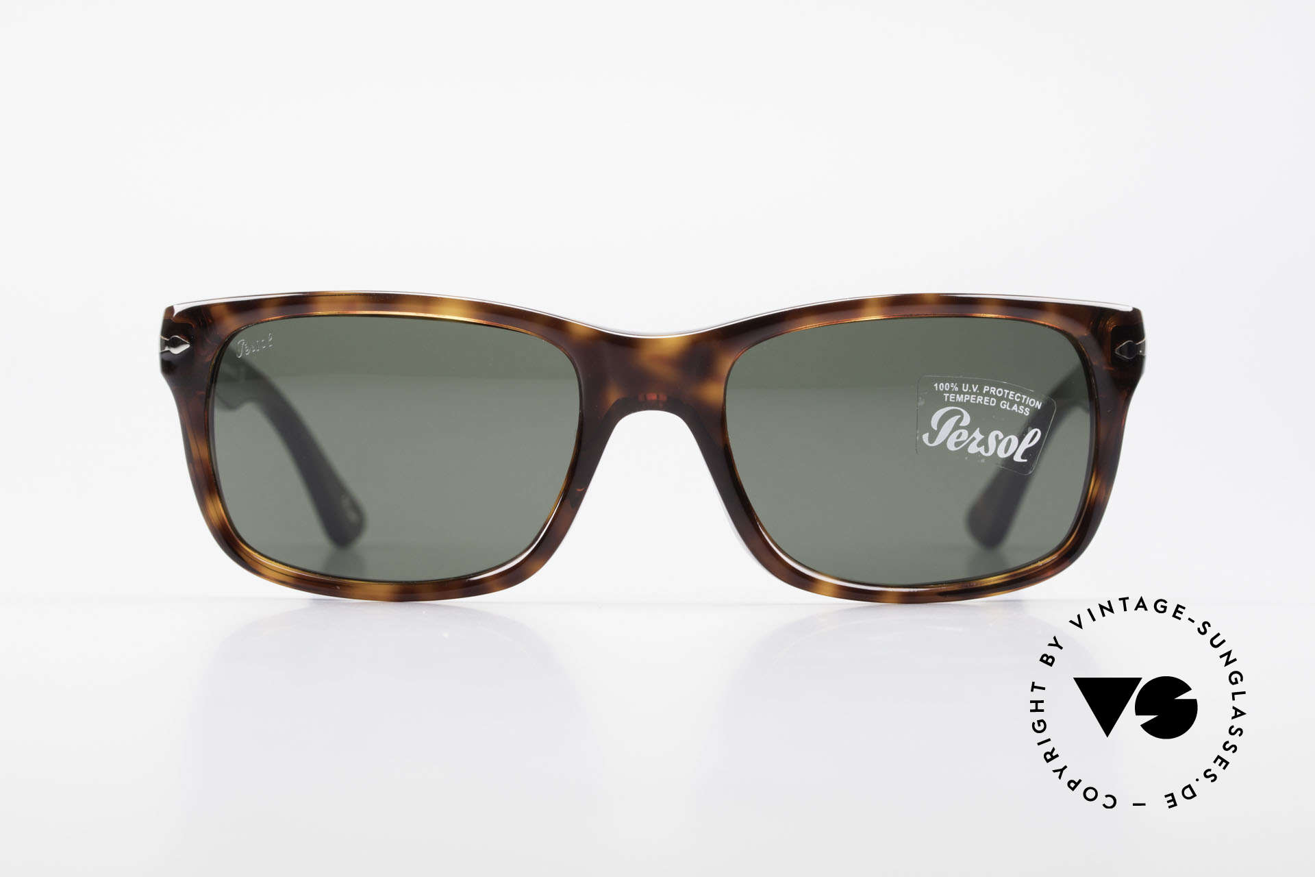 Persol 3048 Timeless Designer Sunglasses, the current collection based on the old Persol RATTIS, Made for Men and Women