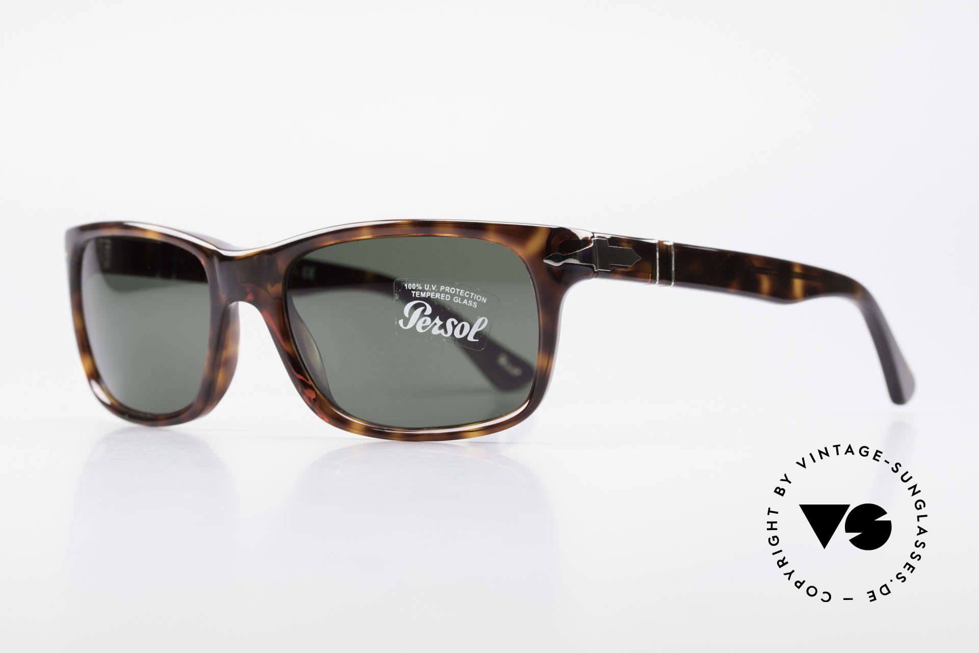 Persol 3048 Timeless Designer Sunglasses, Steve McQueen made Persol RATTI models world-famous, Made for Men and Women