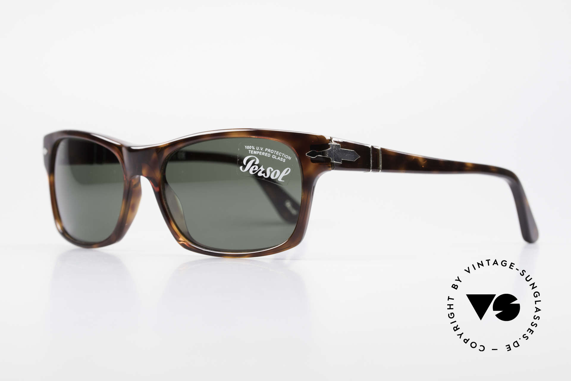 Persol 3037 Designer Sunglasses Unisex L, Steve McQueen made Persol RATTI models world-famous, Made for Men and Women