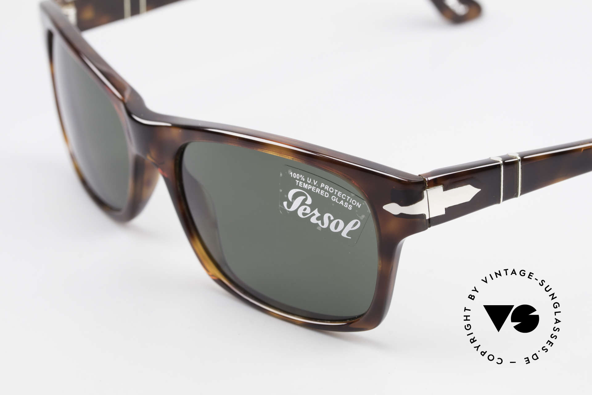 Persol 3037 Designer Sunglasses Unisex L, well, this re-issue is nicely made & in unworn condition, Made for Men and Women
