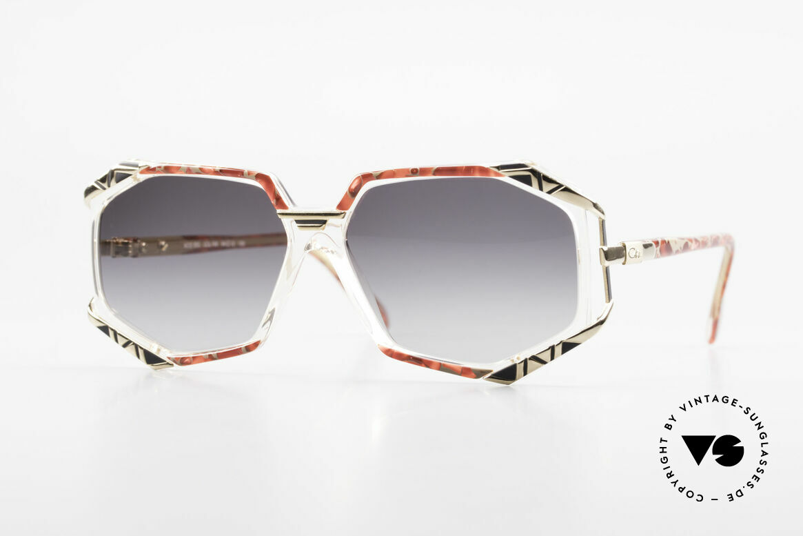 Cazal 355 Spectacular Cazal Sunglasses, extraordinary Cazal designer frame from the early 90's, Made for Women