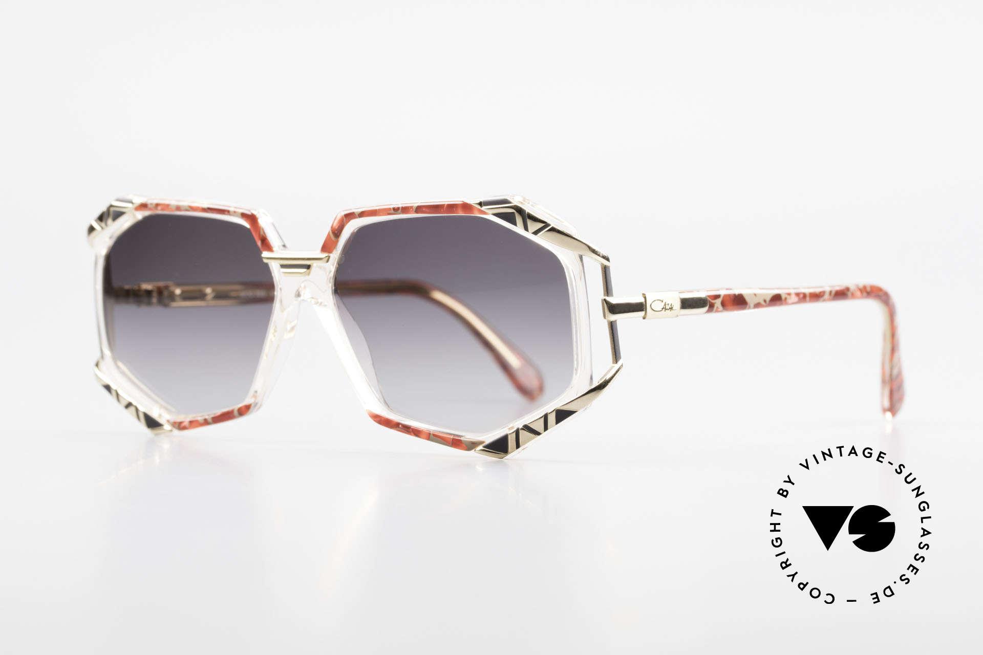 Cazal 355 Spectacular Cazal Sunglasses, terrific frame pattern by CAri ZALloni (check the pics!), Made for Women