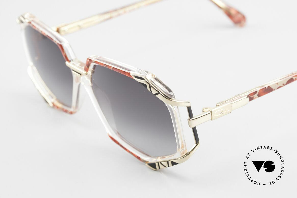 Cazal 355 Spectacular Cazal Sunglasses, color: grenadine-sand mottled / crystal / black / gold, Made for Women
