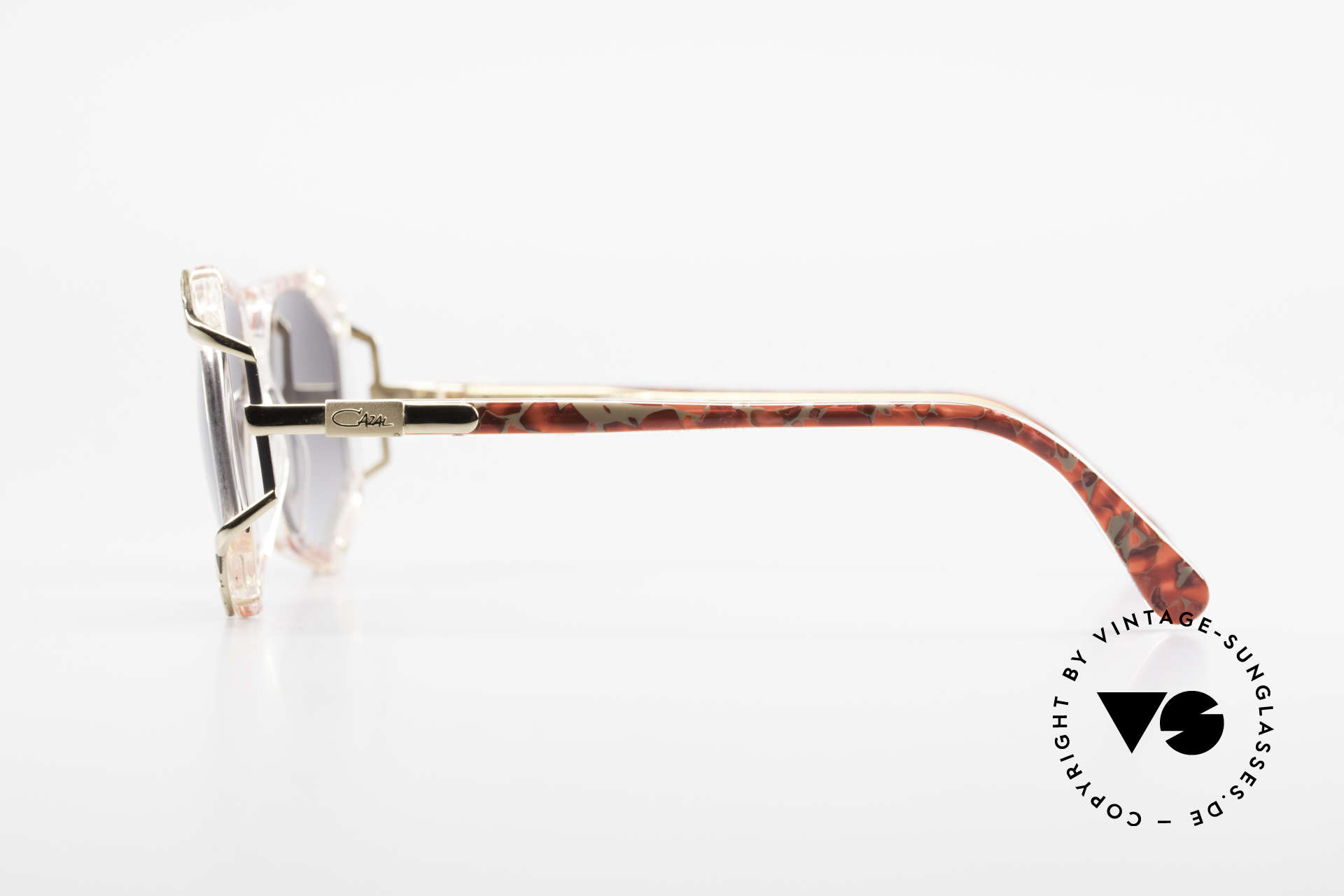 Cazal 355 Spectacular Cazal Sunglasses, unworn, NOS (like all our rare CAZAL vintage eyewear), Made for Women