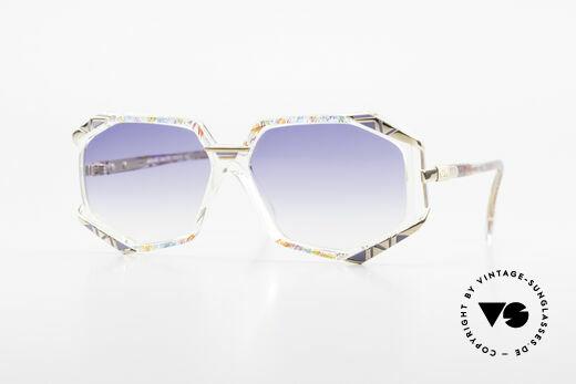 Cazal 355 Extraordinary Sunglasses 90's Details