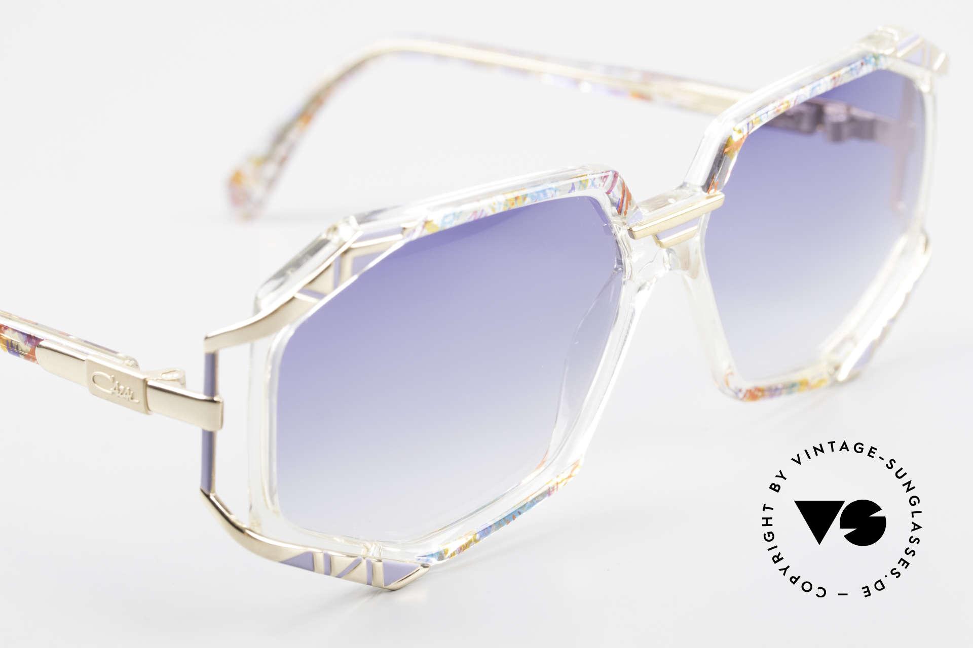 Cazal 355 Extraordinary Sunglasses 90's, unworn, NOS (like all our rare CAZAL vintage eyewear), Made for Women