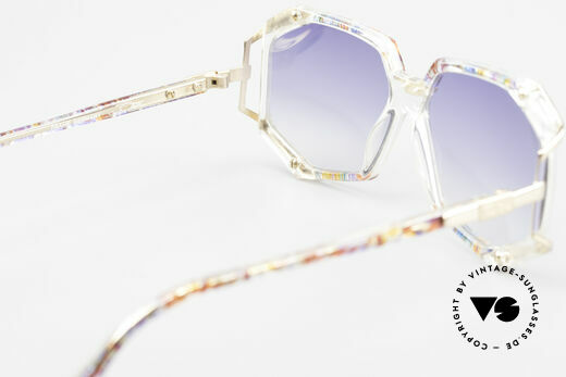 Cazal 355 Extraordinary Sunglasses 90's, NO retro shades, but an authentic 25 years old original, Made for Women