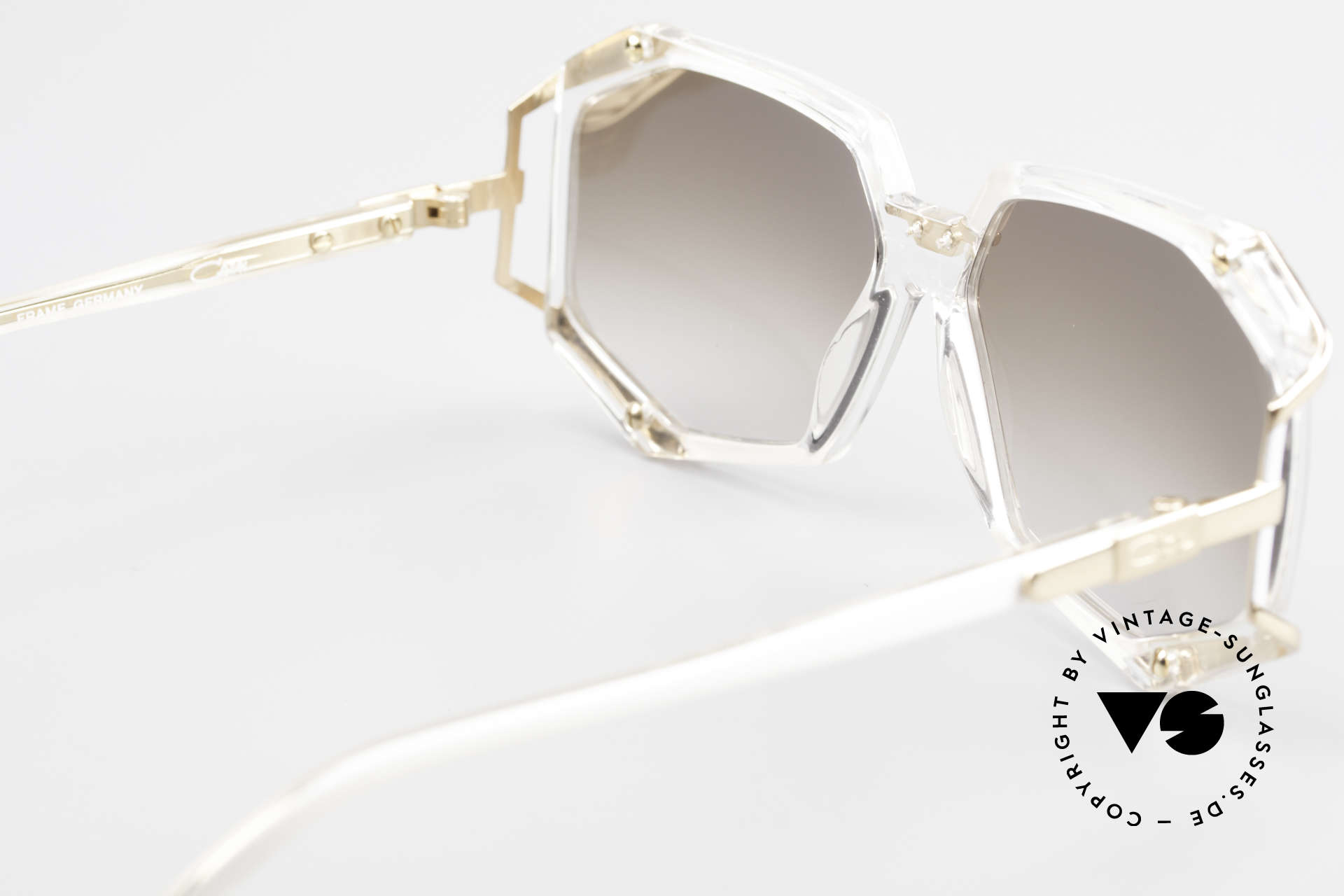 Cazal 355 Spectacular 90s Vintage Cazal, NO retro shades, but an authentic 25 years old original, Made for Women