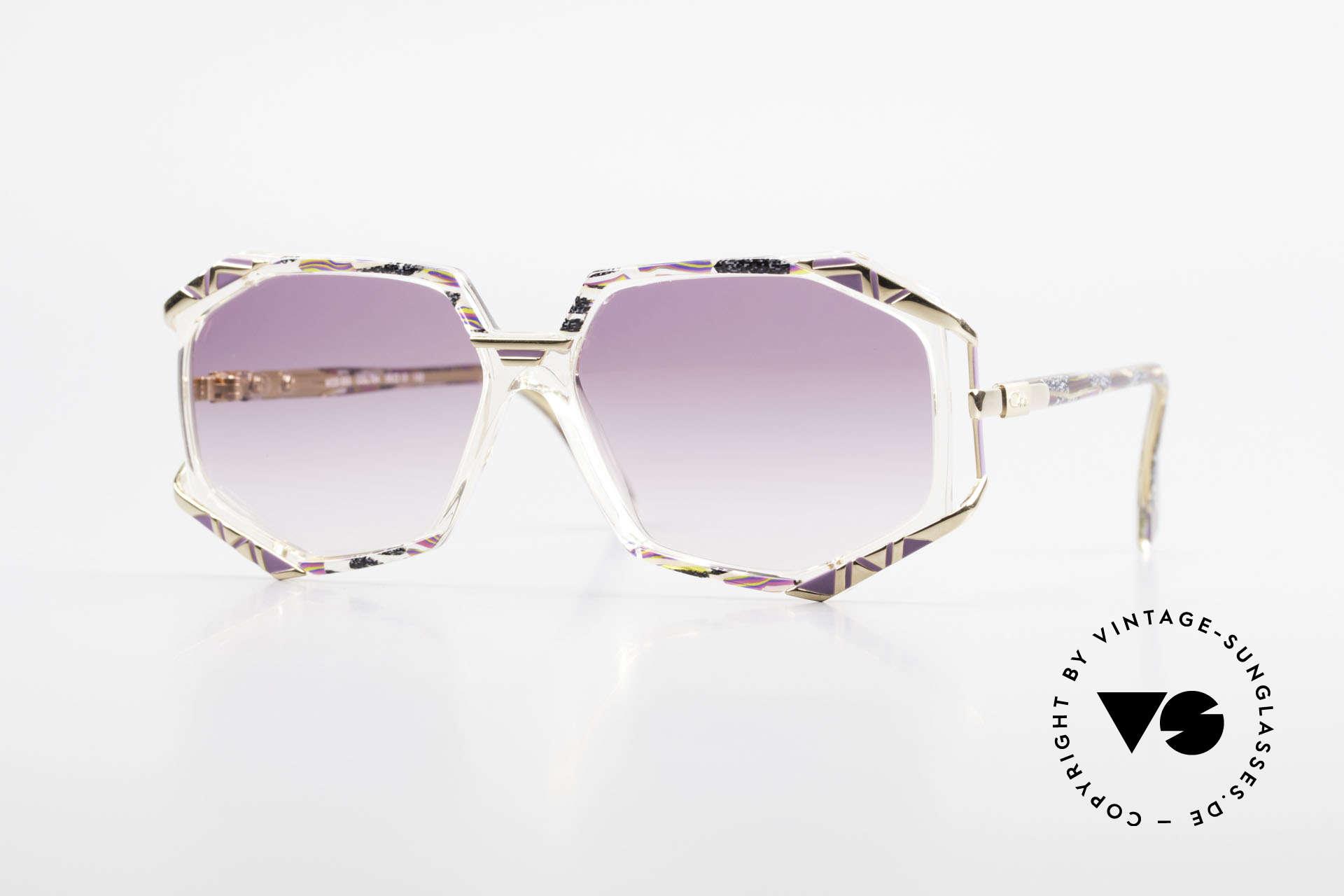 Cazal 355 Extraordinary 90's Cazal Frame, extraordinary Cazal designer frame from the early 90's, Made for Women