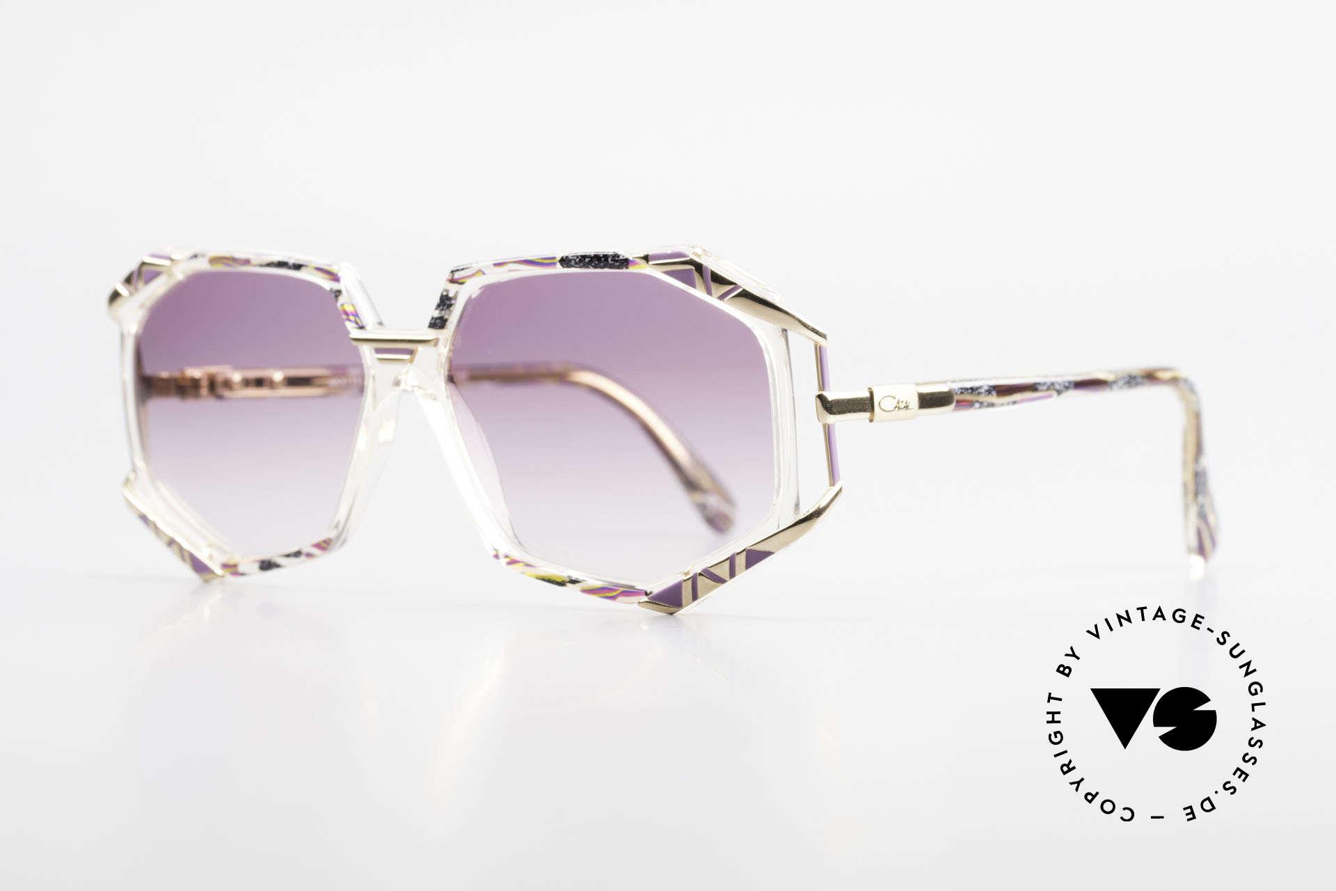Cazal 355 Extraordinary 90's Cazal Frame, terrific frame pattern by CAri ZALloni (check the pics!), Made for Women