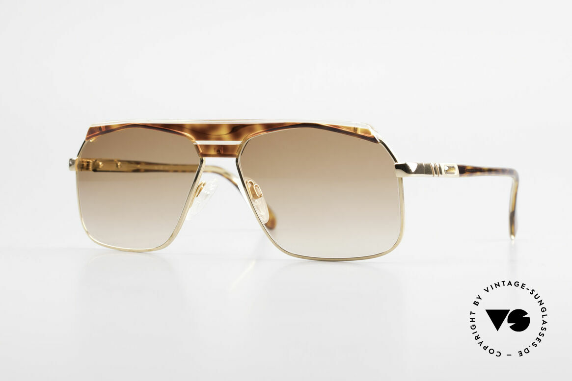Cazal 730 80's West Germany Sunglasses, classic vintage designer sunglasses from the 80's, Made for Men