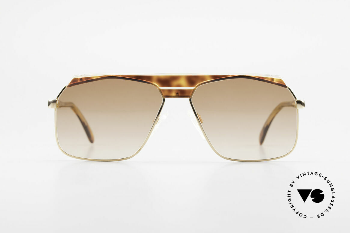 Cazal 730 80's West Germany Sunglasses, unique design by CAri ZALloni - just 'old school', Made for Men
