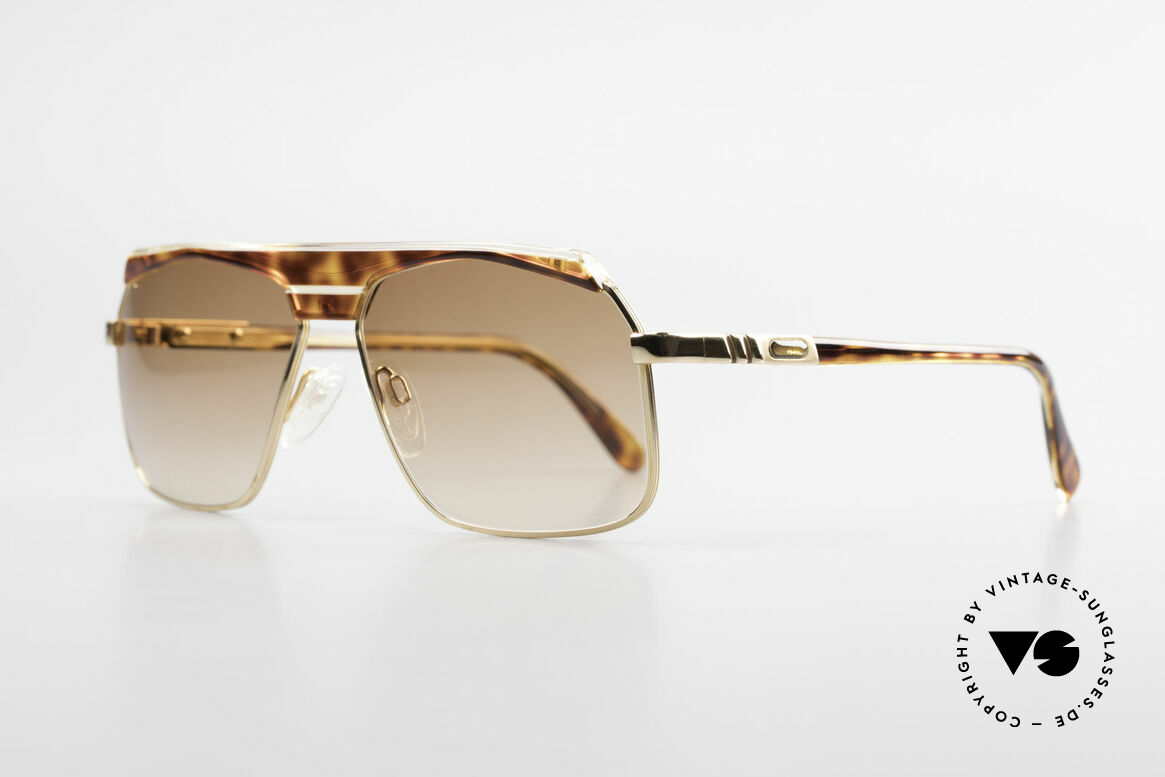 Cazal 730 80's West Germany Sunglasses, a true alternative to the common Aviator-style, Made for Men