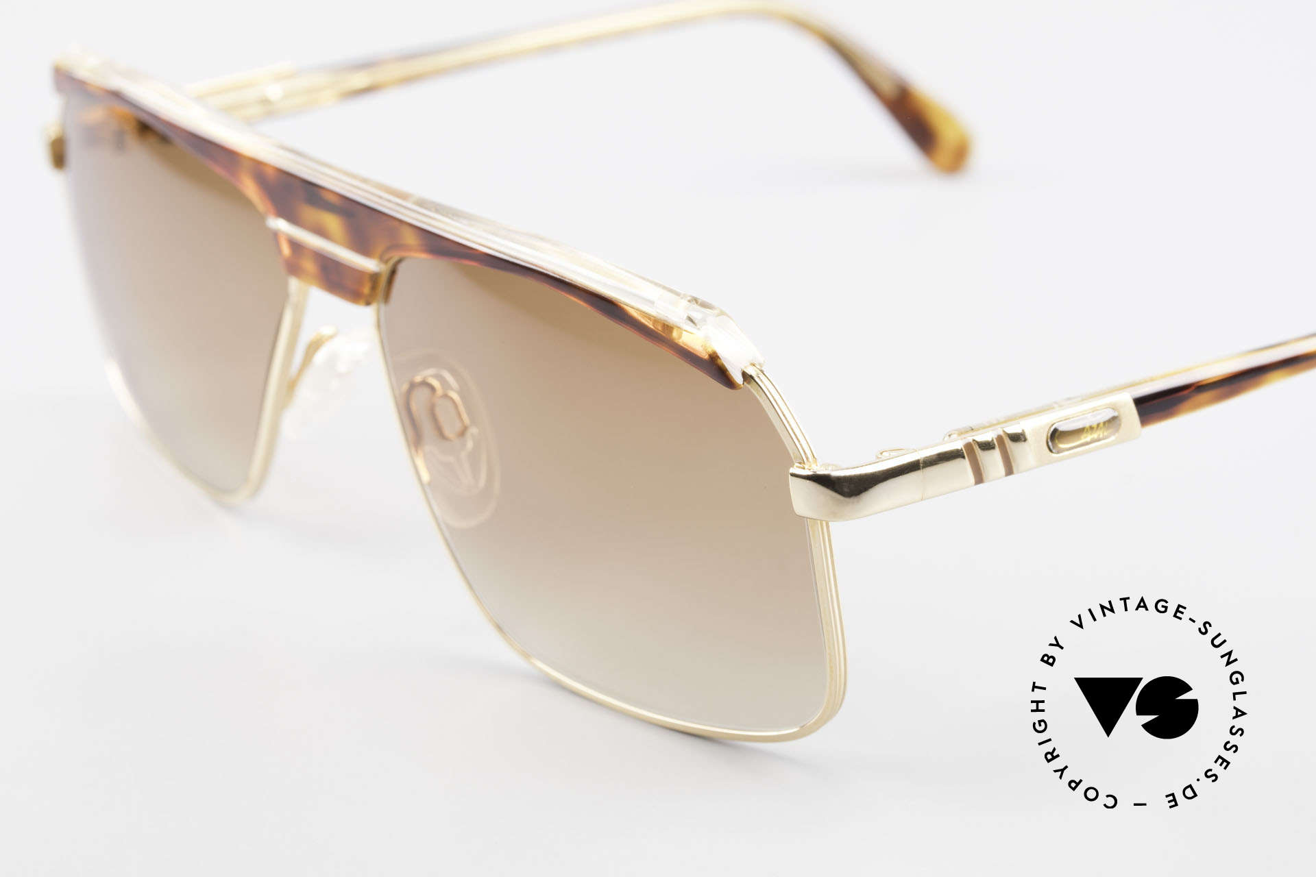 """Cazal 730 80's West Germany Sunglasses, authentic """"W. Germany"""" frame (collector's item), Made for Men"""