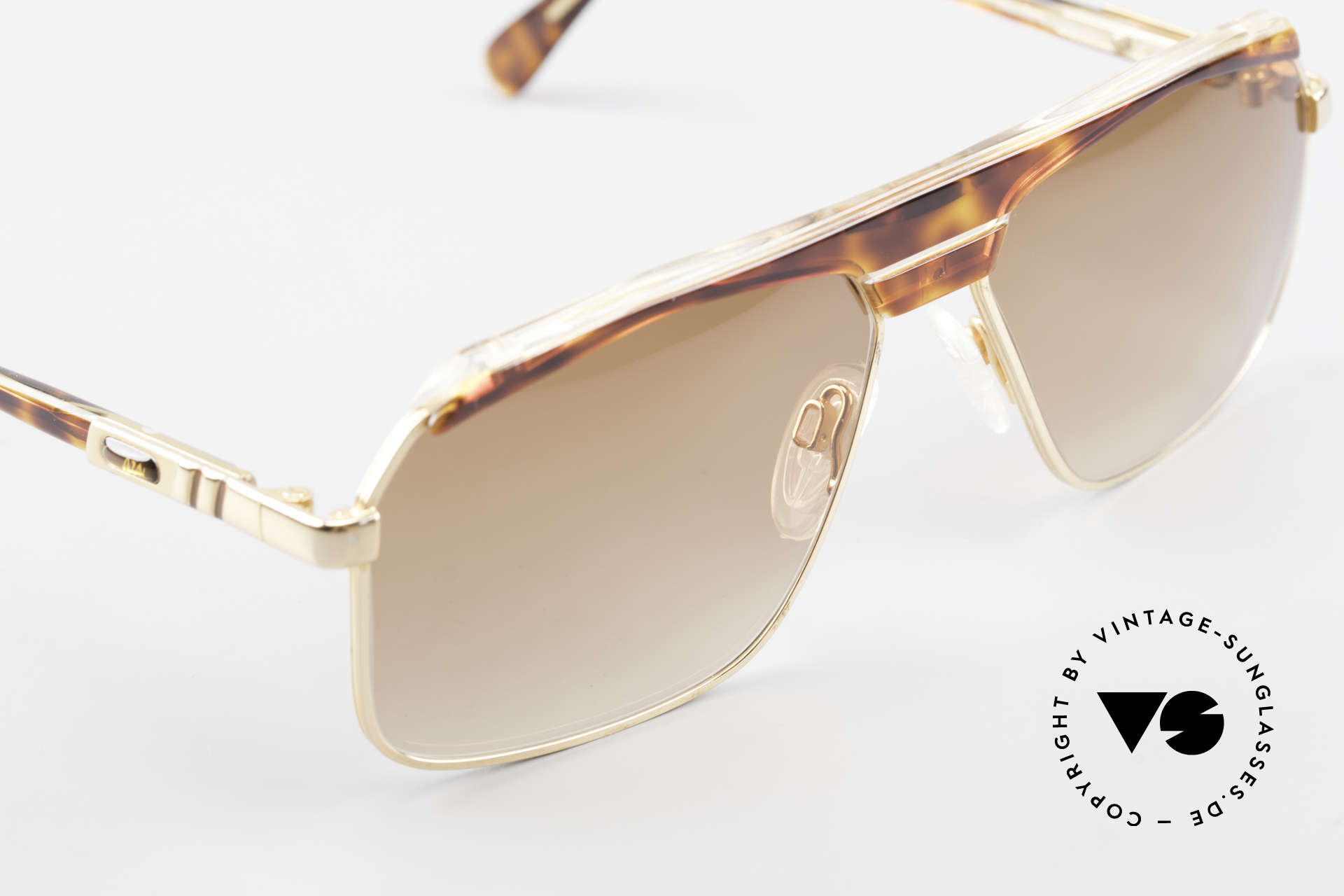 Cazal 730 80's West Germany Sunglasses, new old stock (like all our Cazal vintage shades), Made for Men