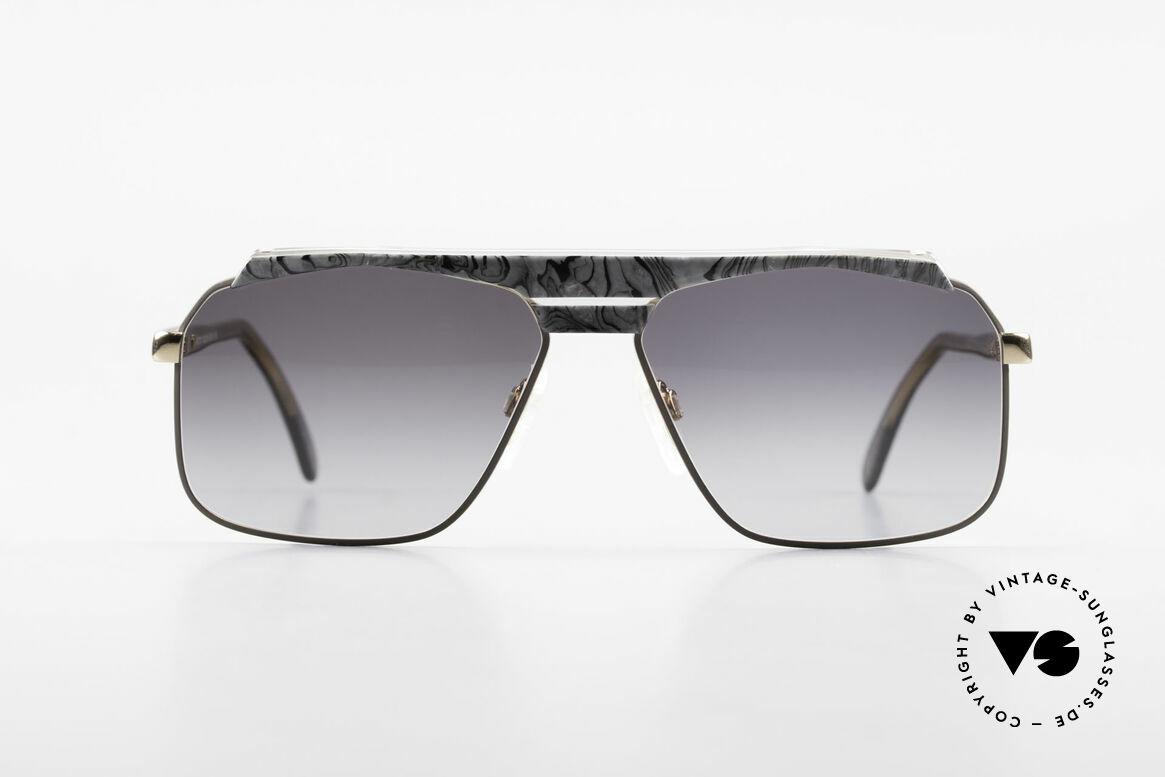 Cazal 730 Vintage 80's Cazal Sunglasses, unique design by Cari Zalloni - just 'old school'!, Made for Men
