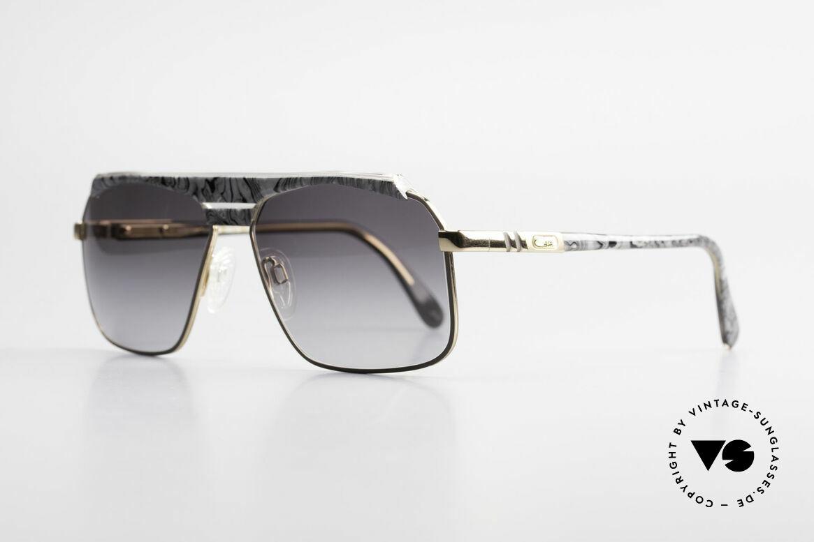 Cazal 730 Vintage 80's Cazal Sunglasses, a true alternative to the common Aviator-style, Made for Men