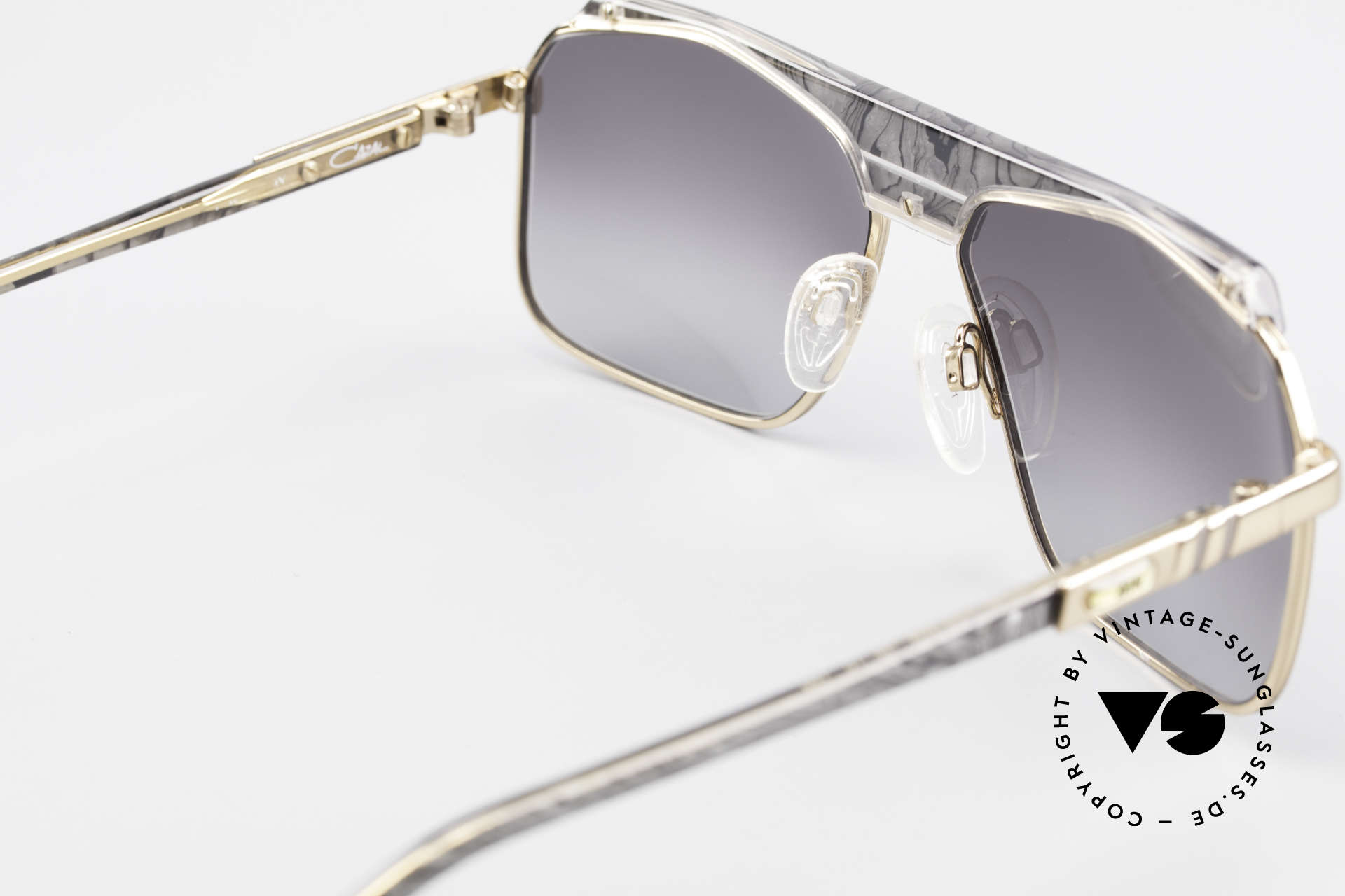 Cazal 730 Vintage 80's Cazal Sunglasses, NO RETRO, but a 30 years old rarity; M size 59/15, Made for Men