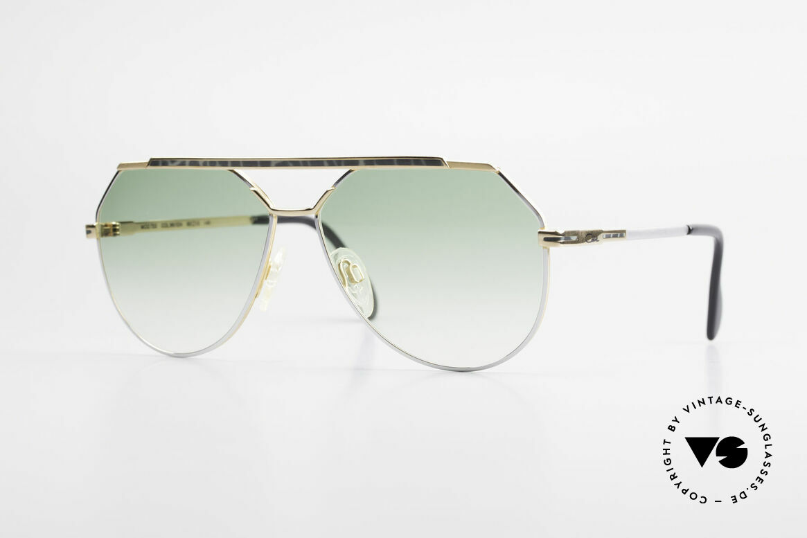 Cazal 733 Gold Plated 80's Sunglasses