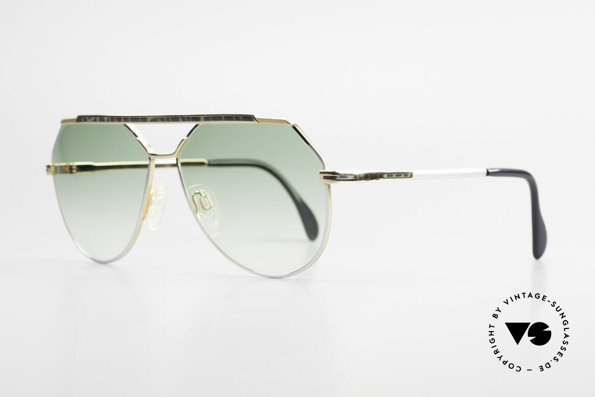 Cazal 733 Gold Plated 80's Sunglasses, finest craftsmanship & neat frame decor; size 60-13, Made for Men