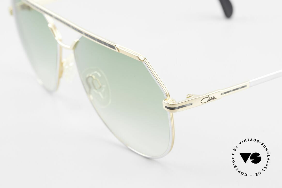 Cazal 733 Gold Plated 80's Sunglasses, new old stock (like all our vintage CAZAL eyewear), Made for Men