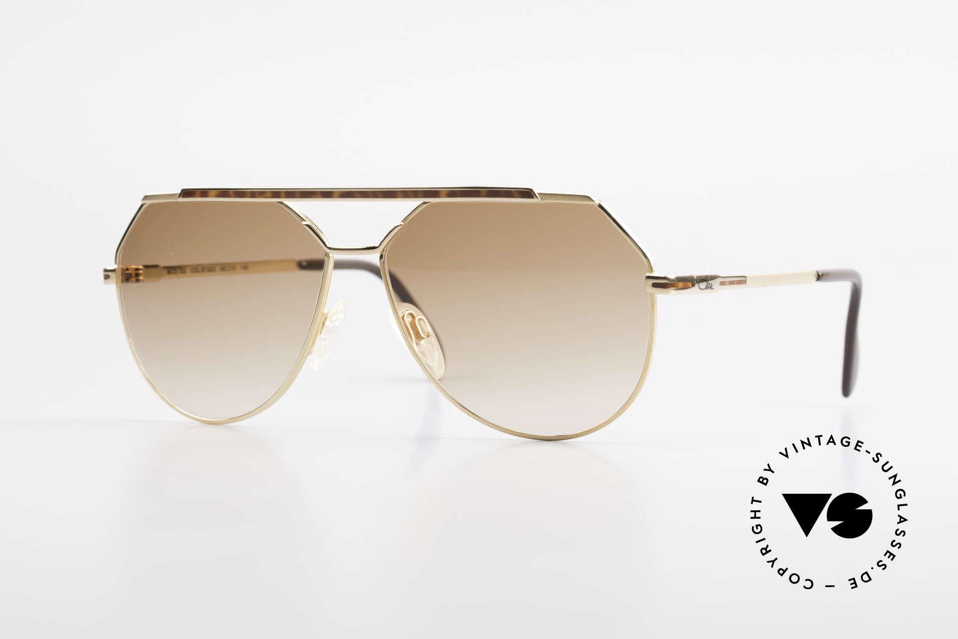 Cazal 733 80's Men's Aviator Sunglasses, striking CAZAL sunglasses for men from 1986/87/88, Made for Men