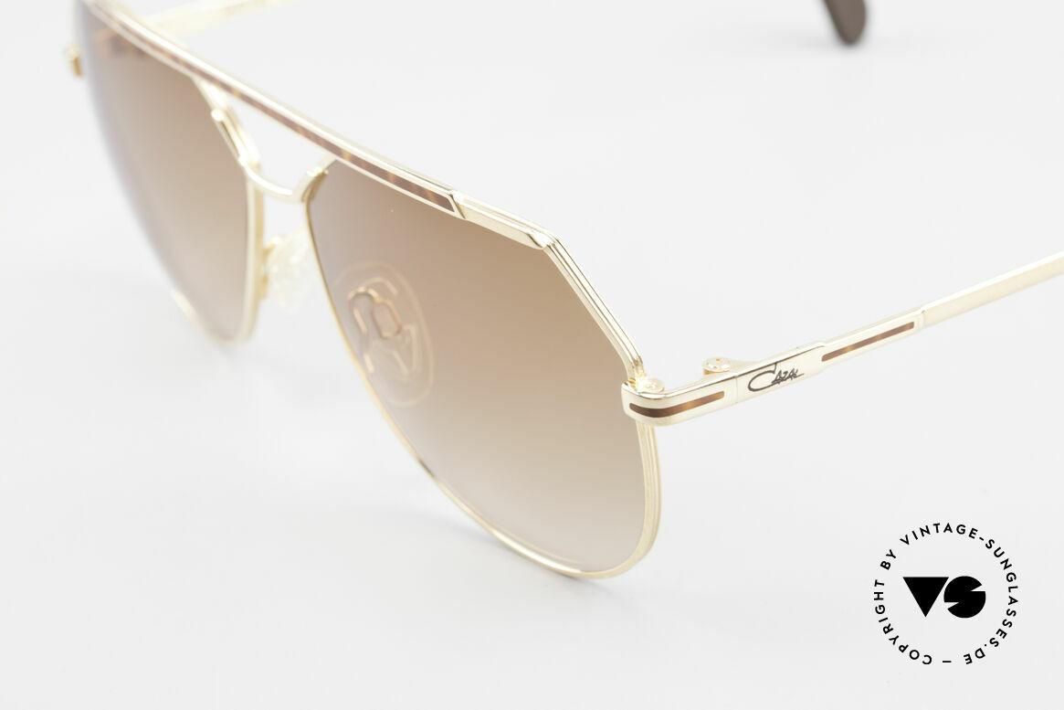 Cazal 733 80's Men's Aviator Sunglasses, new old stock (like all our vintage CAZAL eyewear), Made for Men