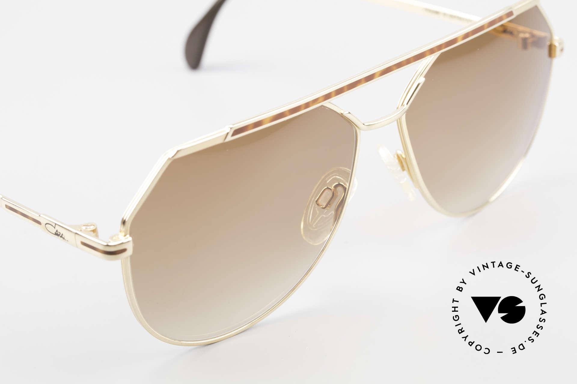 Cazal 733 80's Men's Aviator Sunglasses, NO RETRO shades, but an old 'W.Germany' original, Made for Men