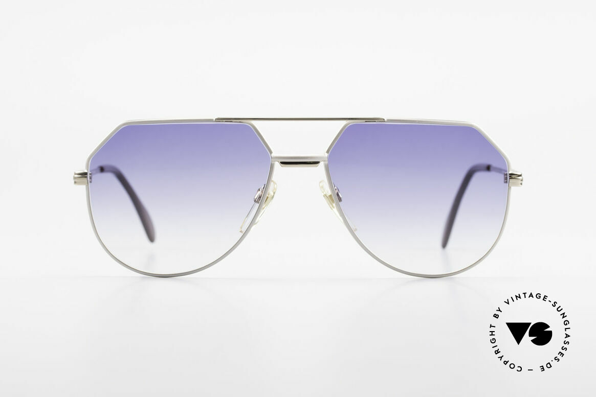 Cazal 724 West Germany Cazal 80's Titan, titanium designer frame for men by Mr. CAri ZALloni, Made for Men