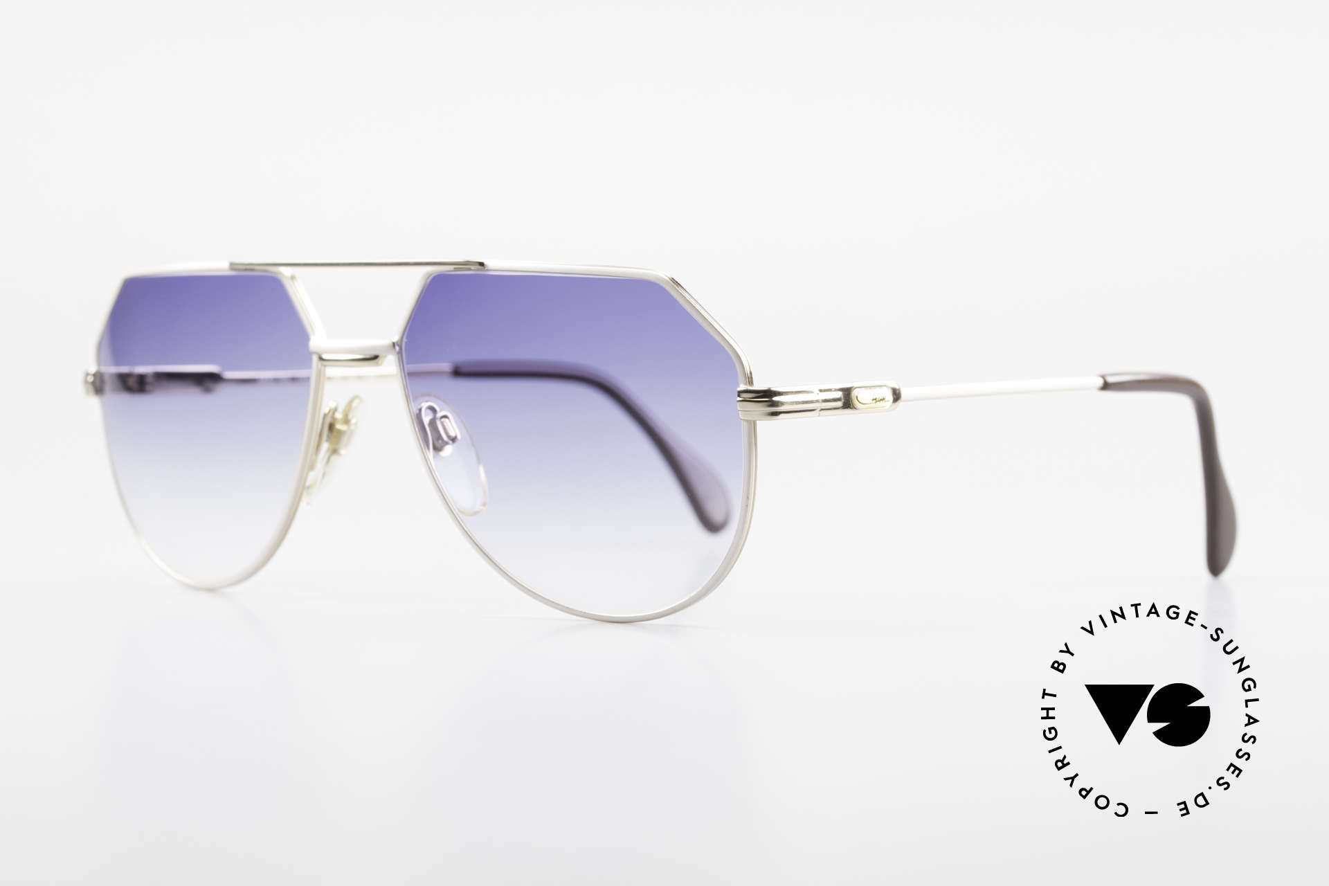 Cazal 724 West Germany Cazal 80's Titan, best craftsmanship & 1st class comfort; true vintage, Made for Men
