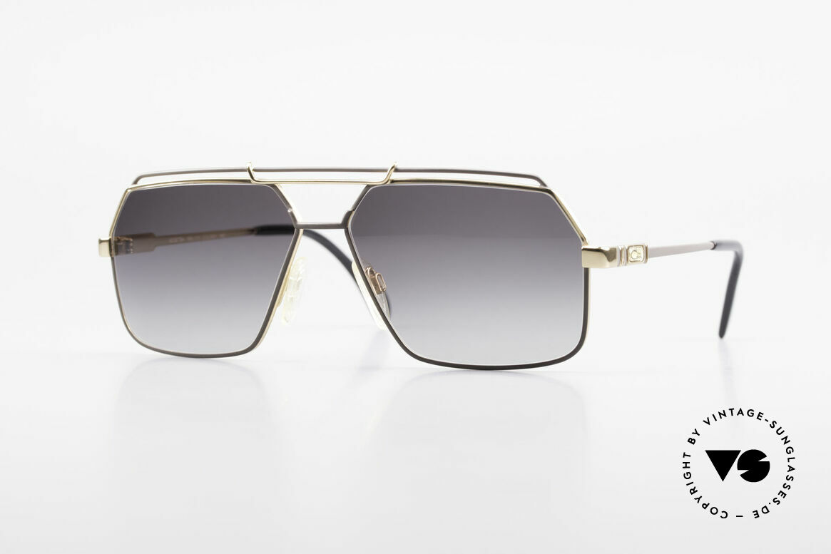 Cazal 734 West Germany Original Cazal, classic Cazal sunglasses for men from 1987/1988, Made for Men