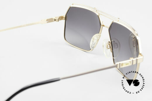 Cazal 734 West Germany Original Cazal, gray-gradient sun lenses (for 100% UV protection), Made for Men