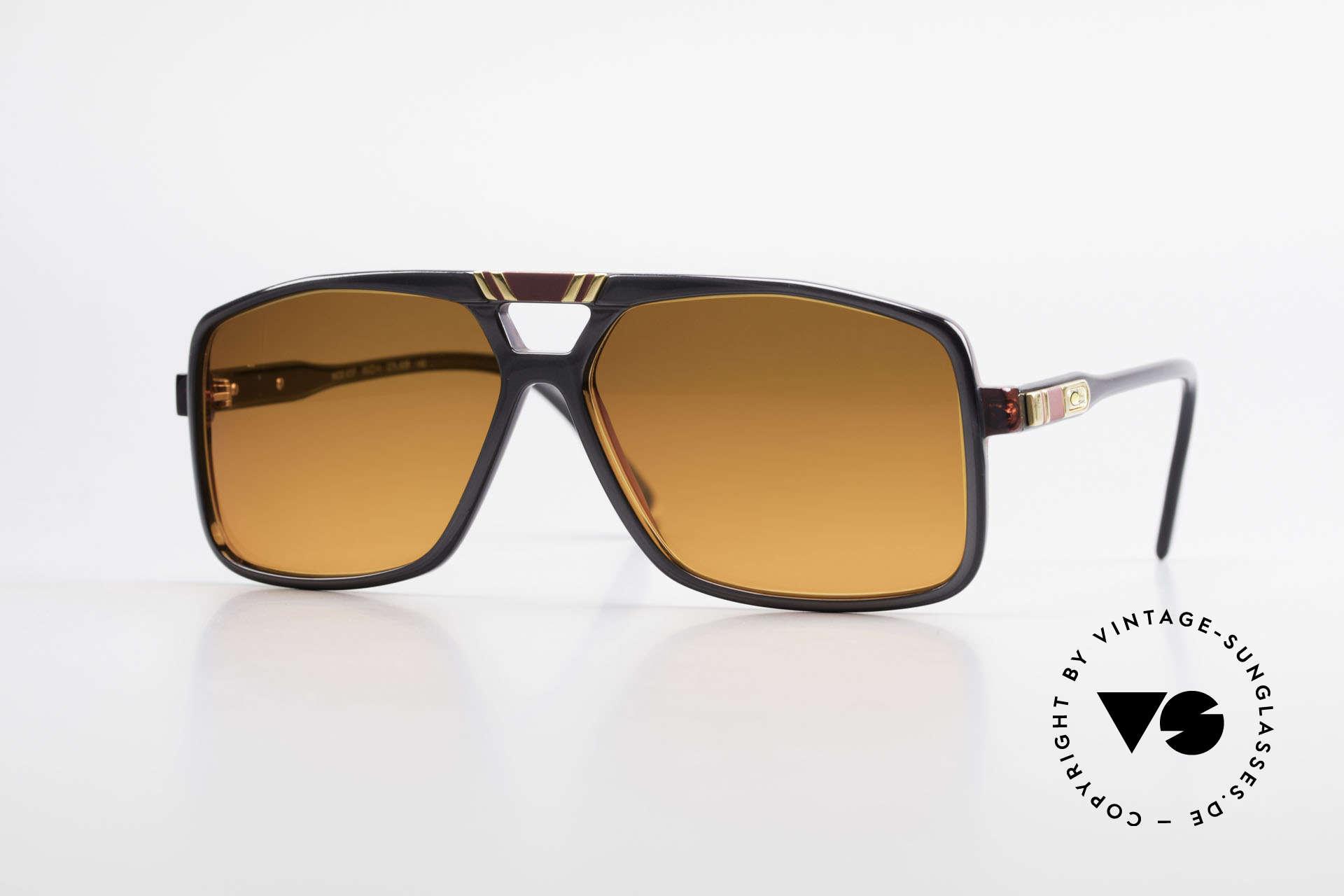 Cazal 637 80's Hip Hop Shades Sunset, West Germany Cazal VINTAGE designer sunglasses, Made for Men