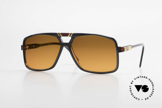 Cazal 637 80's Hip Hop Shades Sunset Details