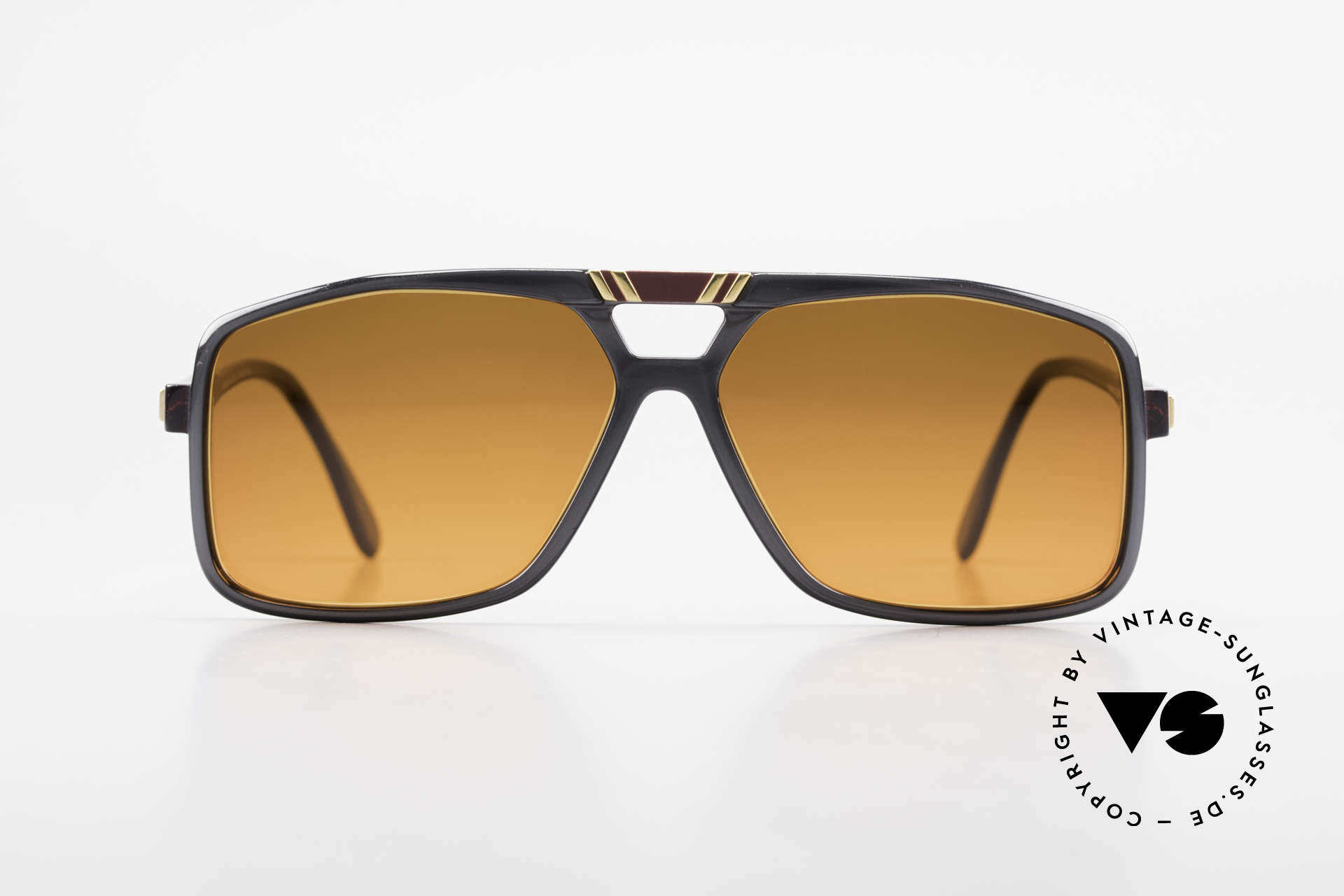 Cazal 637 80's Hip Hop Shades Sunset, a rare old original from 1987: true collector's item, Made for Men